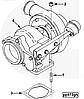 Турбина (Турбонагнетатель) Cummins 6CT 4029184 4029180 HX40W, фото 7