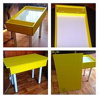 Стол световой с подсветкой для творчества и рисования песком