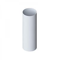 Водосточная труба 3 м, диаметр 95 мм, Альта-Профиль (Россия), белая