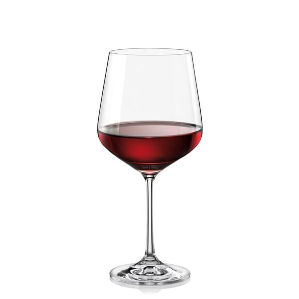 Фужеры Sandra вино 570мл. 6шт. (40728--570). Алматы