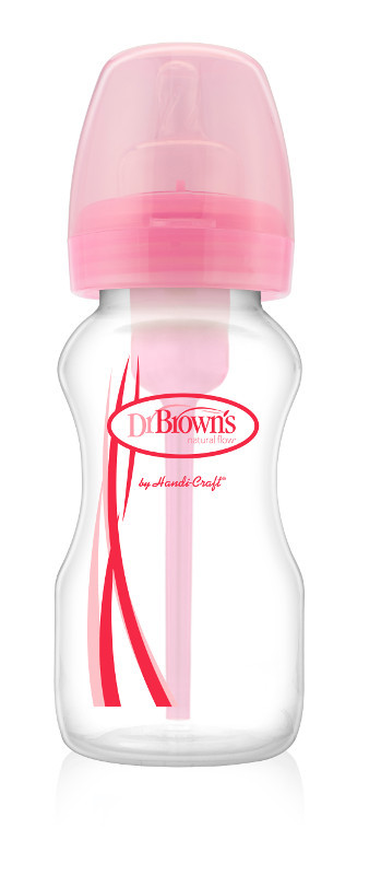 Противоколиковая бутылочка Dr. Brown's OPTIONS с широким горлышком, 270 мл