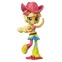 My Little Pony Май Литл Пони Equestria Girls мини-кукла Эпплджек с микрофоном