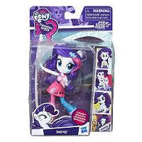 My Little Pony Май Литл Пони Equestria Girls мини-кукла Рарити с микрофоном , фото 1