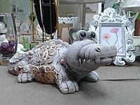 Крокодил фигурка керамика