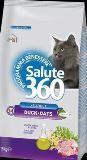 Salute 360 Cat Duck&Oats Сухой Гипоаллергенный корм для взрослых кошек с уткой и овсом, 400г, фото 1