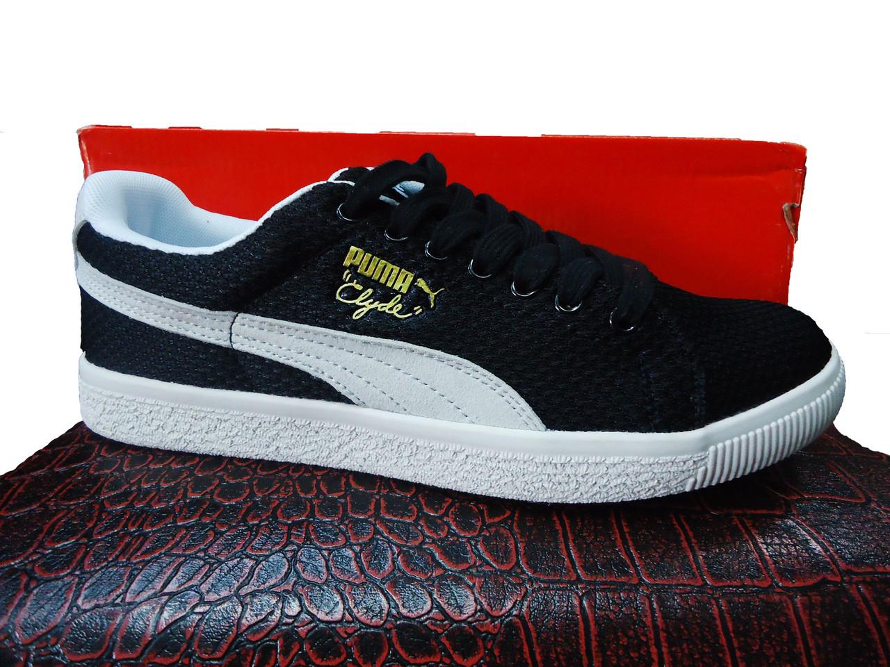 Кеды Puma Clide black.