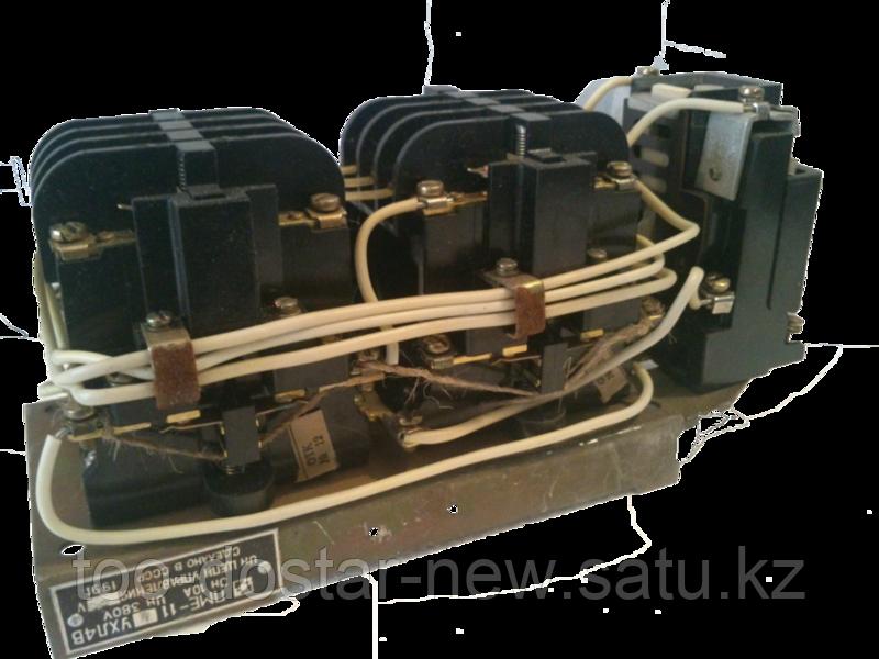 Пускатель ПМЕ12-114 (10 А, реверсивный, с реле)