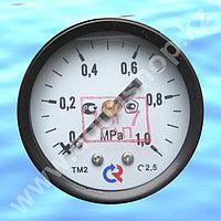Манометр ТМ-210.00 (0-1,0МРа), 50 мм - осевой