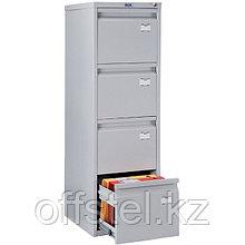 Металлический картотечный шкаф (картотека) ПРАКТИК A-44