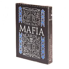 Настольная игра Мафия пластиковая карта