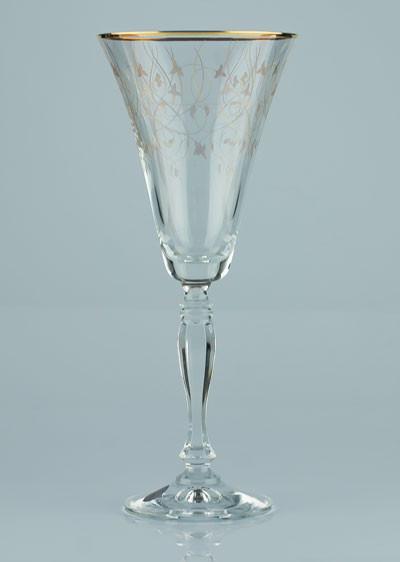 Фужеры Victoria 230мл вино 6шт богемское стекло, Чехия 40727-Q7917-230. Алматы