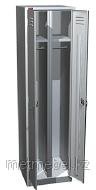 Двухсекционный металлический шкаф для одежды ШРМ-АК-500, фото 1