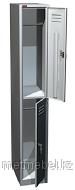 Односекционный металлический шкаф для одежды ШРМ-12, 2 отделения