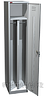 Односекционный шкаф металлический для одежды ШРМ-21, два отделения
