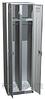 Двухсекционный металлический шкаф для одежды ШРМ-22