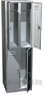 Односекционный металлический шкаф для одежды ШРМ-24, фото 1