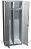 Двухсекционный металлический шкаф для одежды ШРМ-АК-800