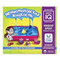 Набор научных экспериментов для детей «Неньютоновская жидкость», Master IQ