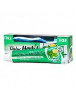 Зубная паста в виде геля с мятой и лимоном Dabur HERB'L TOOTH PASTE - MINT & LEMON -FRESH GEL 150 гр + Зубная