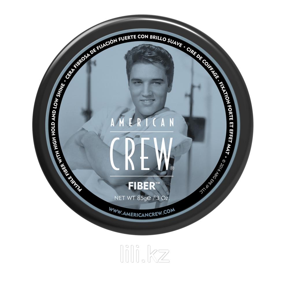 Паста высокой фиксации с низким уровнем блеска, великолепно подходит для укладки усов American Crew King Fiber