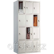 Шкаф для раздевалок (локер) ПРАКТИК LS-34