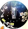 Часы металлические (разные цвета)