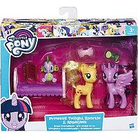 Пони-модницы парочки, My little Pony, Принцесса Твайлайт Спаркл и Эпплджек , фото 1