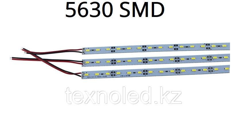 Светодиодная линейки Led SMD  5630 12v 6000K, фото 2