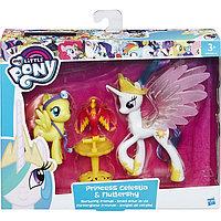 Пони-модницы парочки, My little Pony, Принцесса Селестия и Флаттершай , фото 1