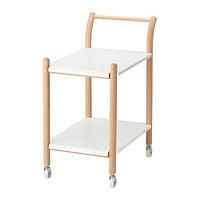 Стол приставной на колес ИКЕА ПС 2017 бук ИКЕА, IKEA