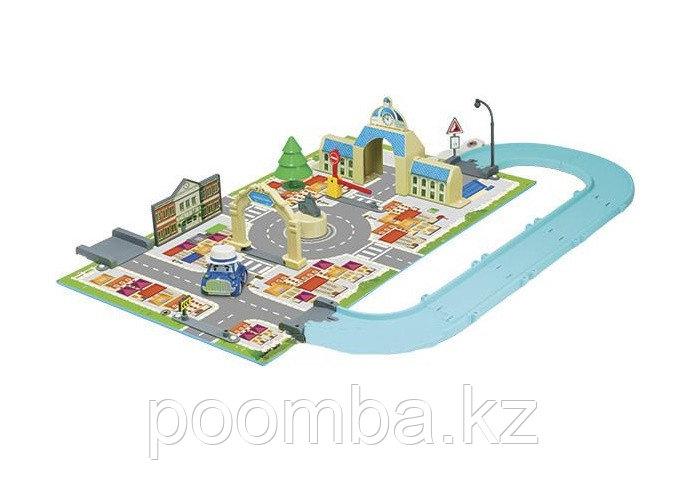 """Игровой набор Robocar Poli """"Город"""" - Мэрия, с машинкой Масти"""
