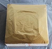 Поталь для золочения в листах 14/14 см 100 листов на аллюминиевой основе