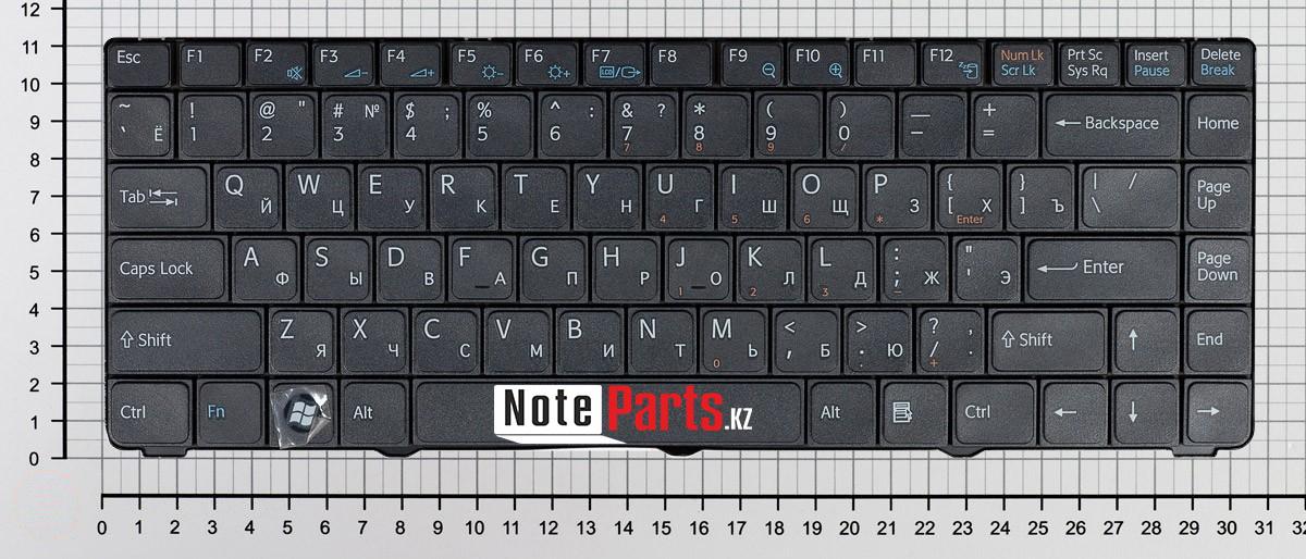 Клавиатура для ноутбука Sony Vaio VGN-NR / VGN-NS / VGNNR
