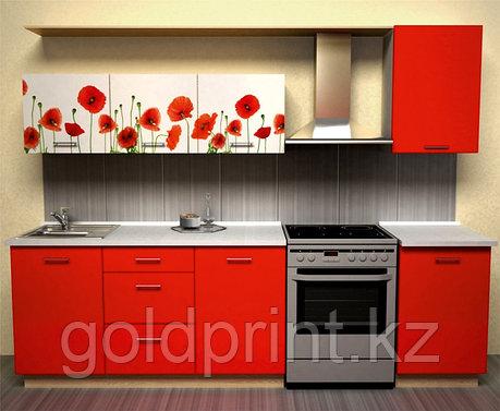 УФ Печать на Кухонных гарнитурах Маки, фото 2