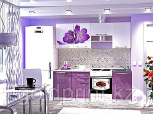 УФ Печать на Кухонных гарнитурах Цветы, фото 2