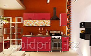 УФ Печать на Кухонных гарнитурах Цветы, фото 3