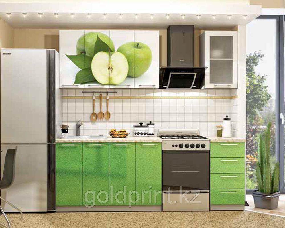 УФ Печать на Кухонных гарнитурах Яблоко