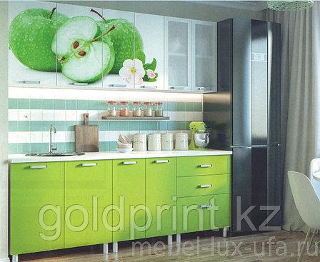УФ Печать на Кухонных гарнитурах Яблоко, фото 2
