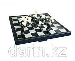 Шахматы шашки нарды. 3 в 1. Магнитное поле.