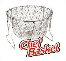 Складная корзина - дуршлаг для приготовления пищи Chef Basket