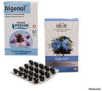 Противоаллергическое средство - масло черного тмина, Нигенол в капсуле