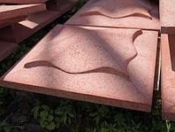 Накрывочный камень 450x450 на колоны Красный