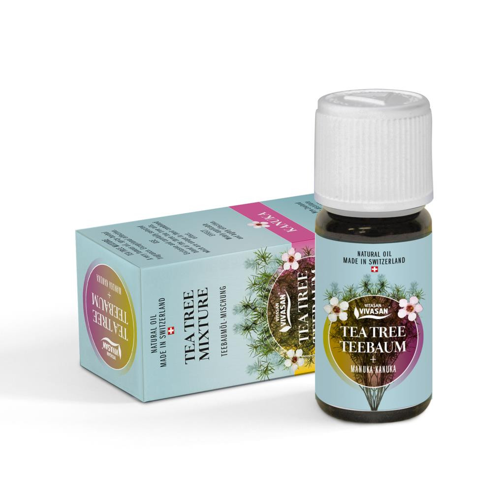 Эфирное масло ЧАЙНОЕ ДЕРЕВО, антибактериальное и антисептическое средство.