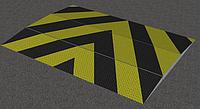 Дорожный противотаранный блокиратор накладной 2500DB, фото 1