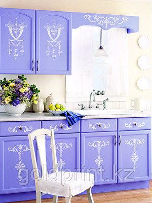 УФ Печать на Кухонных гарнитурах Прованс, фото 2
