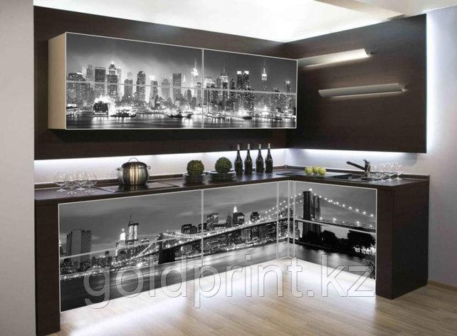 УФ Печать на Кухонных гарнитурах Город, фото 2
