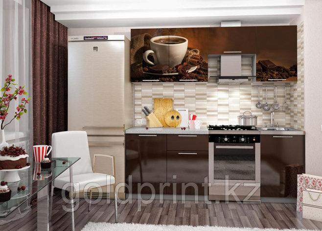УФ Печать на Кухонных гарнитурах Кофе, фото 2