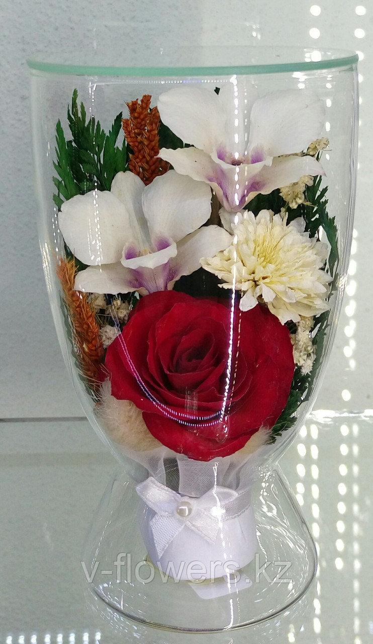 Цветы в стекле CuLM