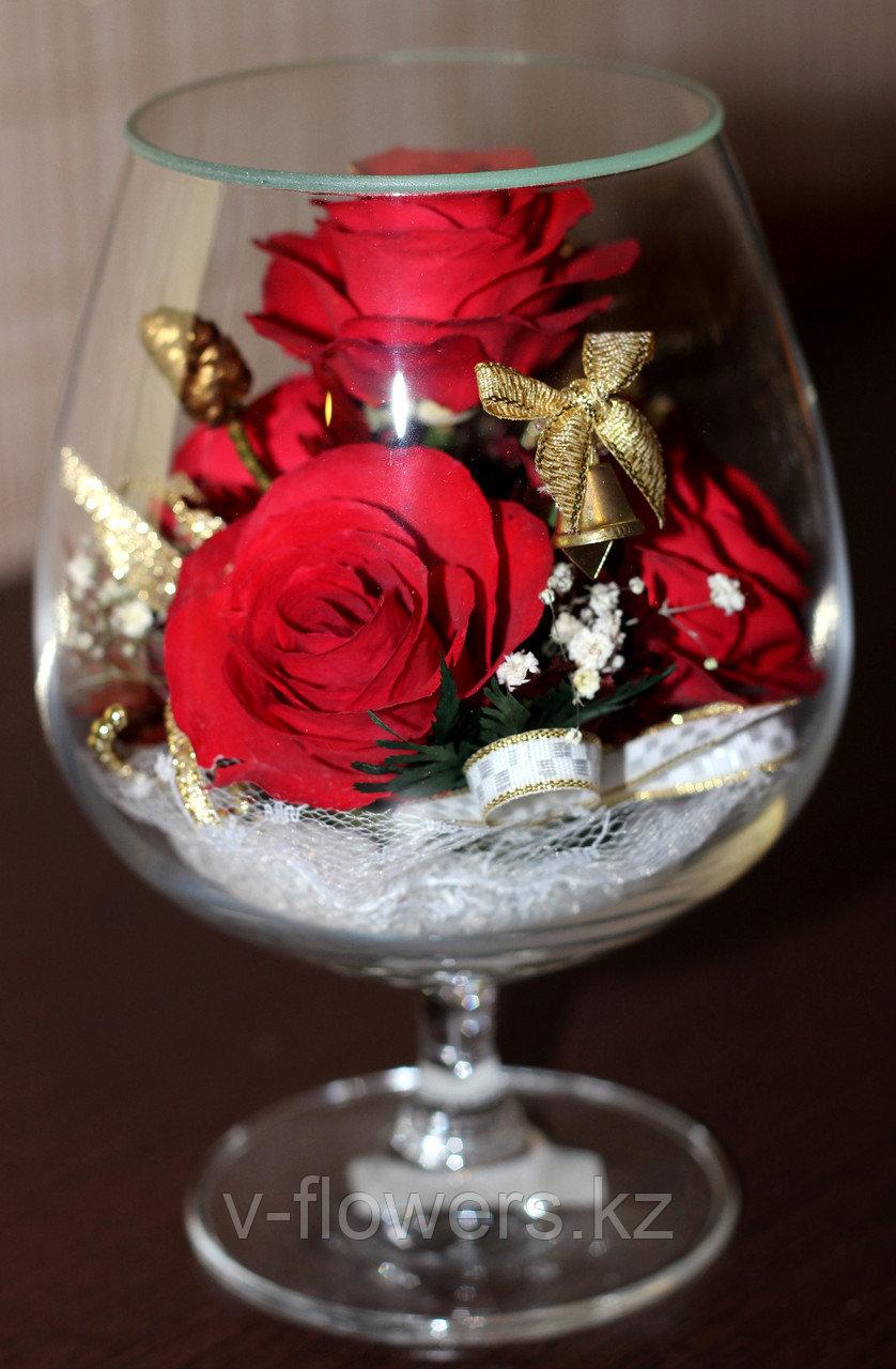 Цветы в стекле GCX