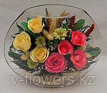 Вечные живые цветы EMR5c-02